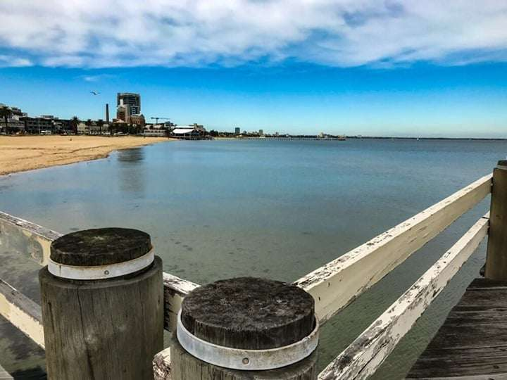 St Kilda from Port Melbourne