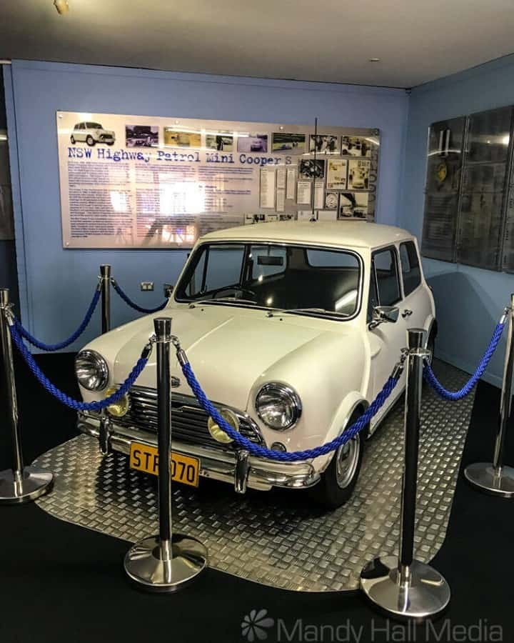 Mini at the Police museum in NSW
