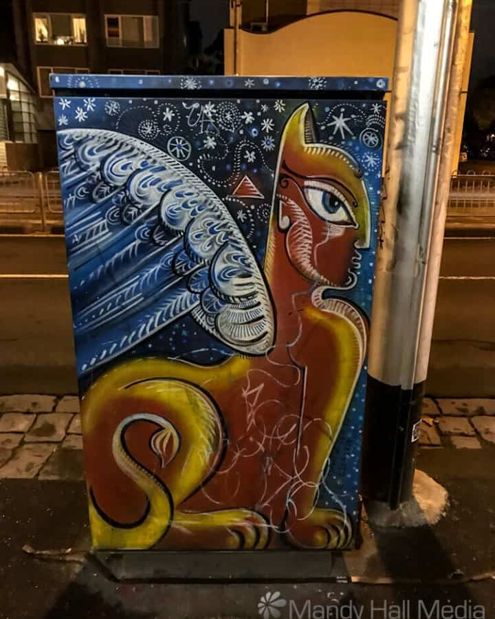 Sphinx electrical box