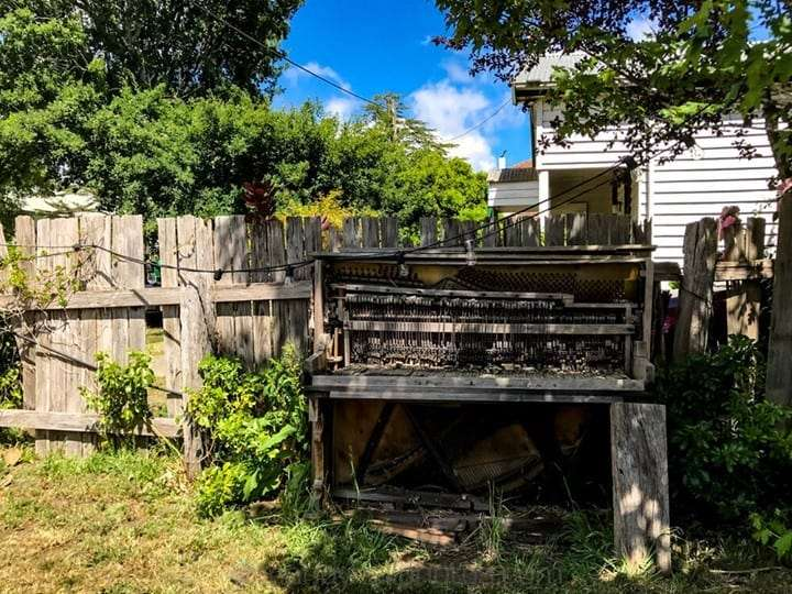 Old piano, probably needs tuning