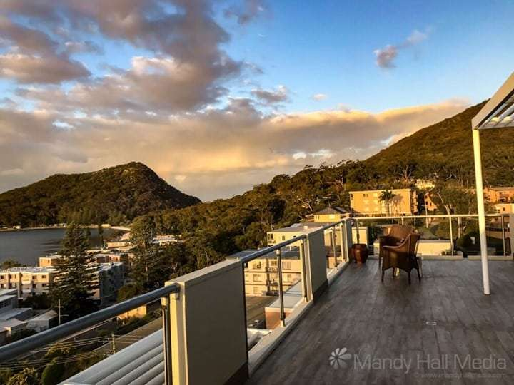 Sunset at Port Stephens
