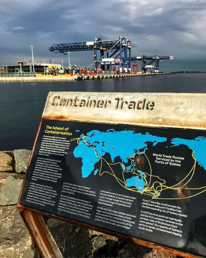 Container Trade in Botany Bay