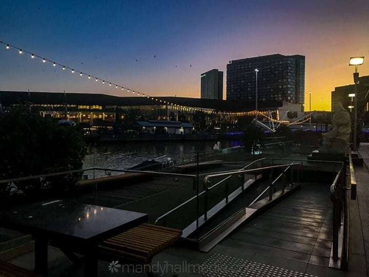 Sunset in Southbank